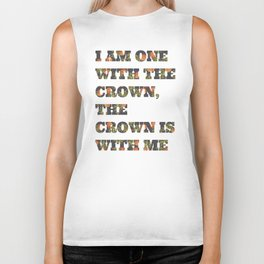 One With the Crown Biker Tank