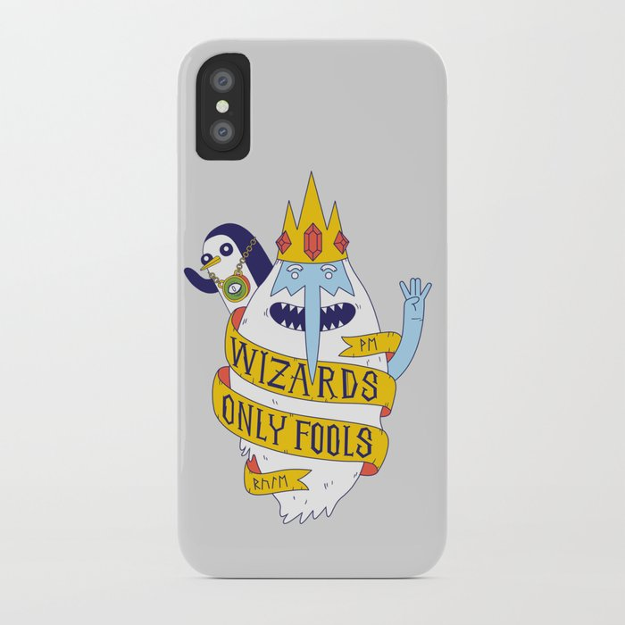 Wizards Only Fools iPhone Case