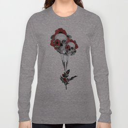 Evolution of poppies.  Long Sleeve T-shirt
