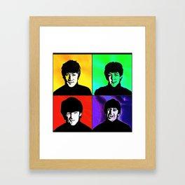 the fab 4 Framed Art Print