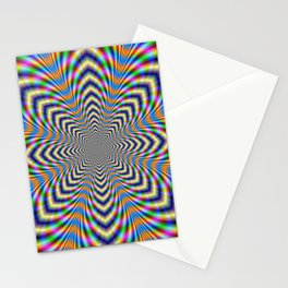 Octagonal Pulse Stationery Cards