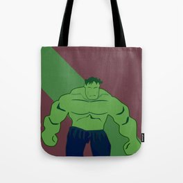 Verde y muy, muy furioso Tote Bag