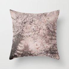 SILENT FOREST 4 Throw Pillow
