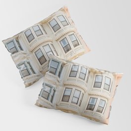 San Francisco Pastels Pillow Sham