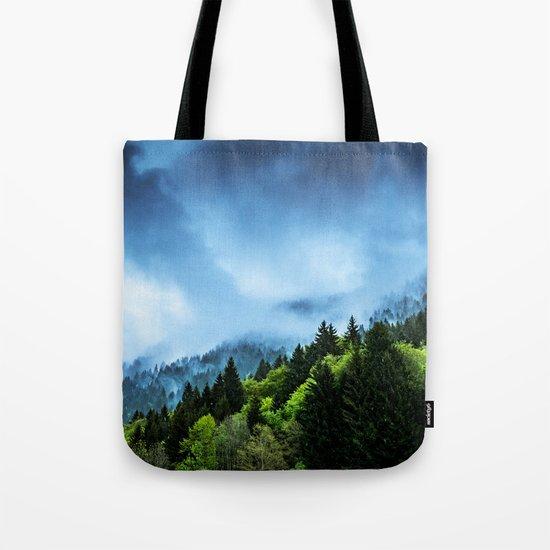 Charming Winter Tote Bag
