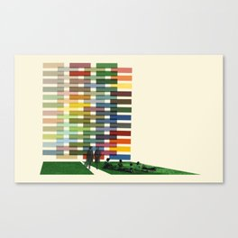 New Town  Canvas Print