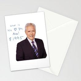 We Love You, Alex Trebek Stationery Cards