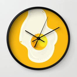The fried egg Wall Clock