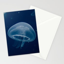 Small Blue Jelly Animal / Wildlife Photograph Stationery Cards