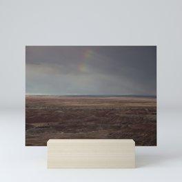 Desert Rainbow Mini Art Print