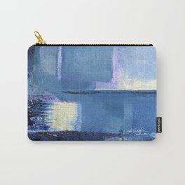Sea Blue by Kathy Morton Stanion Carry-All Pouch