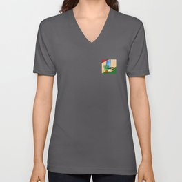 Backyard Unisex V-Neck