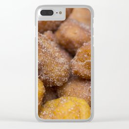 Carrot dumplings Clear iPhone Case