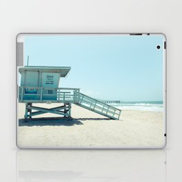 Hermosa Beach Lifeguard Tower 19 Laptop & iPad Skin