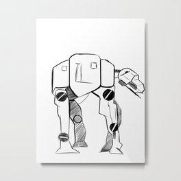 TA-TA Metal Print