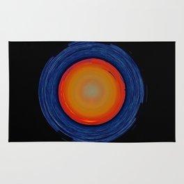 Circular Sunset Rug