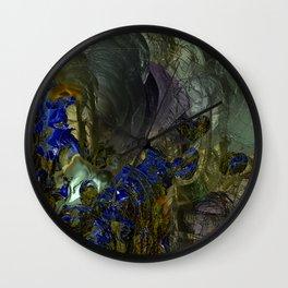 abstract q7 Wall Clock