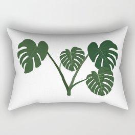 monstera delicosa Rectangular Pillow