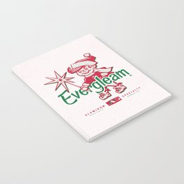 Frosty the Evergleam Elf Notebook