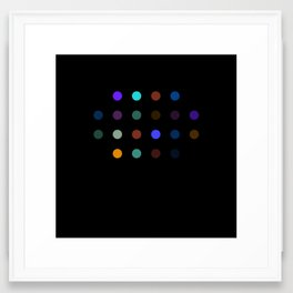 Damien Hirst, outspoken again! Framed Art Print