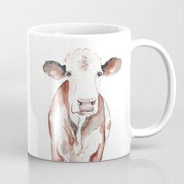 Cow Watercolor Coffee Mug