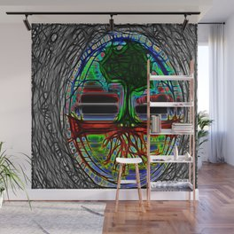 Life Grows Wall Mural