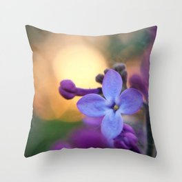 I see fire. Throw Pillow