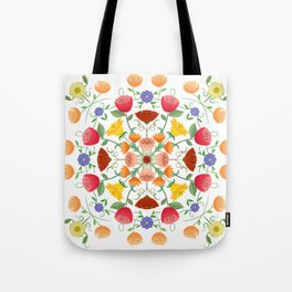 A Symphony Of Floral Delights Tote Bag
