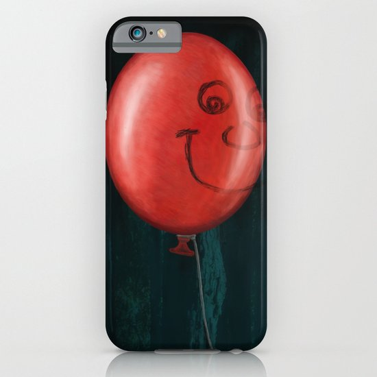 The Boy and the Balloon iPhone & iPod Case