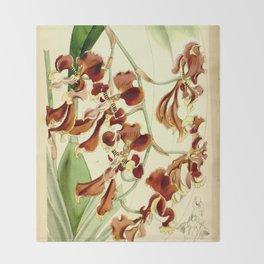 Cyrtochilum serratum Throw Blanket
