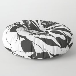 Tristor 1.0 (black) Floor Pillow