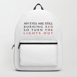 Lights Out Backpack