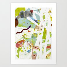 Level Art Print