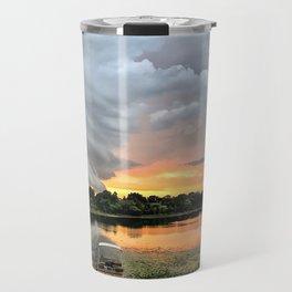"""Stormy Sunset"" Travel Mug"