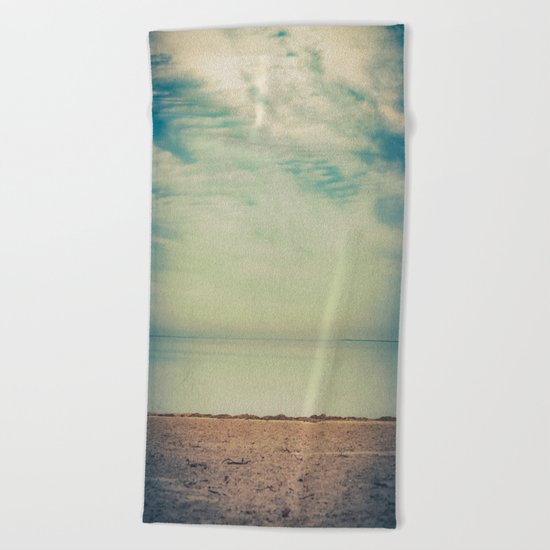 Calm Return Beach Towel