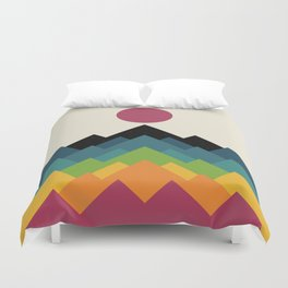 Life Is A Mountain Duvet Cover