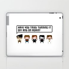 The IT Crowd Characters Laptop & iPad Skin
