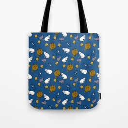Mouse and Cat and Cheese Tote Bag