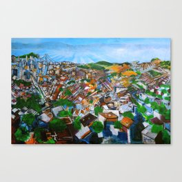 Lively View from Twin Peaks Canvas Print