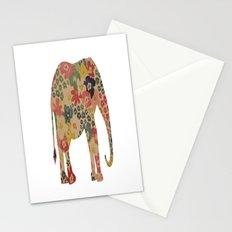 Flower Power Elephant Stationery Cards
