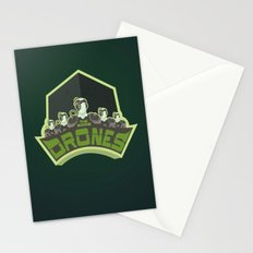 The Borg Drones Stationery Cards