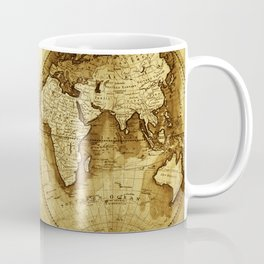 Antique Map of the World Coffee Mug