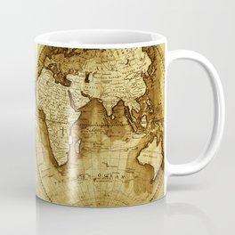 Antique Map of the World Coffee Mug