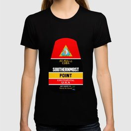 Southern Most Point, Key West, Florida/サザン・モスト・ポイント T-shirt