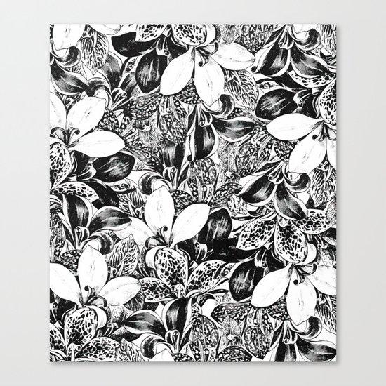 Monochrome #society6 #decor #buyart Canvas Print