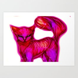 In heat Art Print