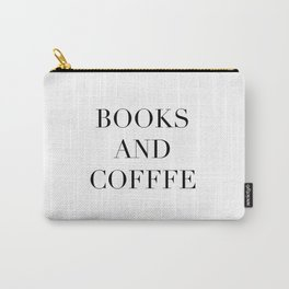 Books & Coffee Carry-All Pouch