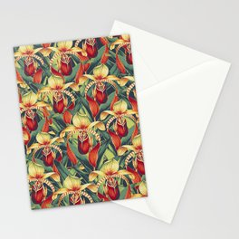 Vintage Garden 14 (Orchid Paradise) Stationery Cards