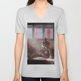 The Merc With A Mouth Stops To Reload - Dead Unisex V-Neck