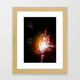 Binarygrowth 79 Framed Art Print